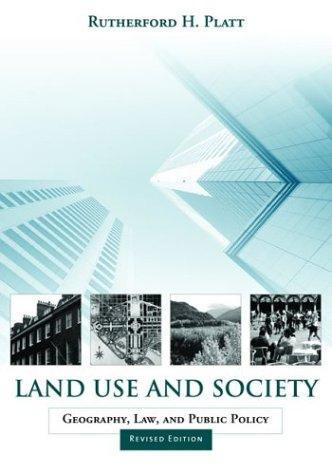 Land use and society