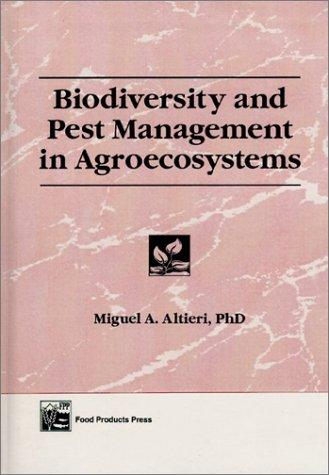 Biodiversity and pest management in agroecosystems by