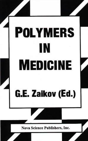 Polymers in Medicine by Gennadii Efremovich Zaikov