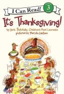 It's Thanksgiving! (I Can Read Book 3)