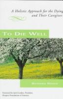To die well by Richard Reoch