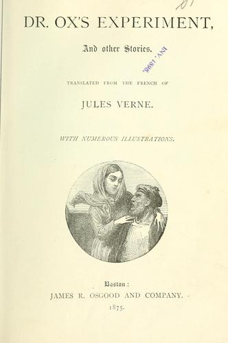 Dr. Ox's experiment by Jules Verne
