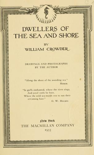 Dwellers of the sea and shore