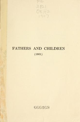 Fathers and Sons (Ott︠s︡y i deti) by Ivan Sergeevich Turgenev