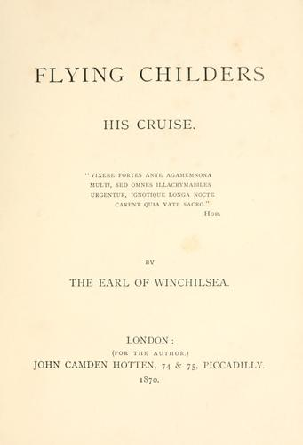 Flying Childers by Winchilsea and Nottingham, George James Finch-Hatton Earl of