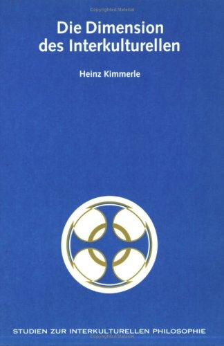 Die Dimension des Interkulturellen by Heinz Kimmerle