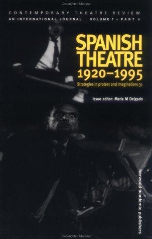 Spanish Theatre, 1920-1995